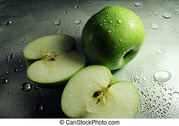 äpplen, frukter