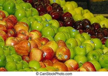 äpplen, galore