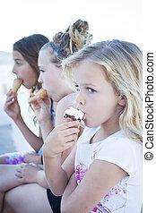 äta för barn, glass