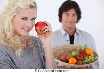 ätande äpple