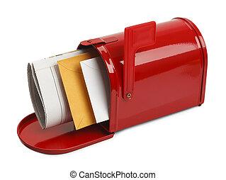 åbn, postkasse