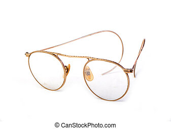 årgång, antikvitet, glasögon