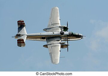 årgång, b25, bombplan