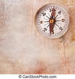 årgång, bakgrund, kompass