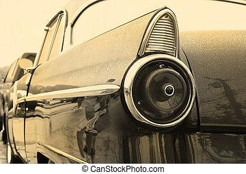 årgång bil