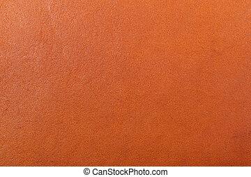 årgång, brun, läder, struktur