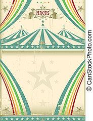 årgång, cirkus, bakgrund