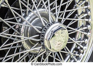 årgång, däck, bil