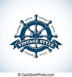 årgång, emblem, nautisk