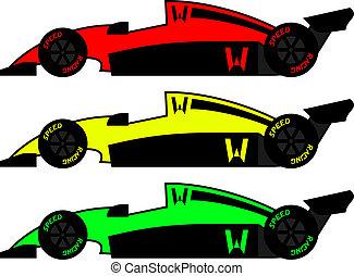 årgång, färg, bilar