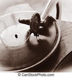 årgång, grammofon