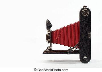 årgång kamera, film