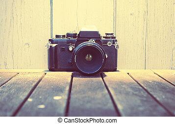 årgång kamera