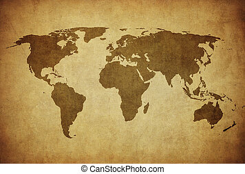 årgång, karta, av, världen