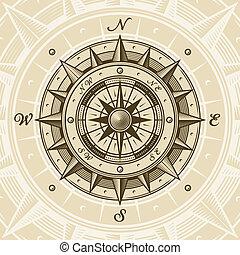 årgång, kompass