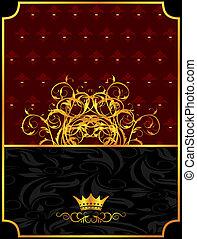 årgång, krona, bakgrund