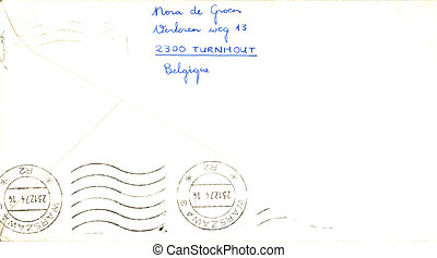 årgång, kuvert