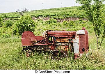 årgång, larvtraktor, traktor