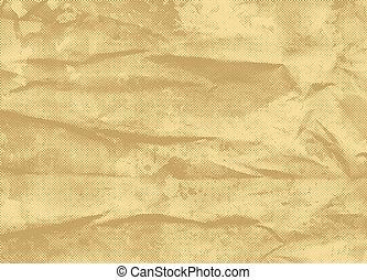 årgång, papper, bakgrund, halftone