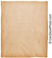 årgång, papper, bakgrund