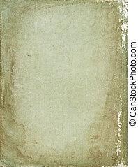 årgång, papper, sjabbig, bakgrund, retro