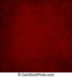 årgång, röd fond