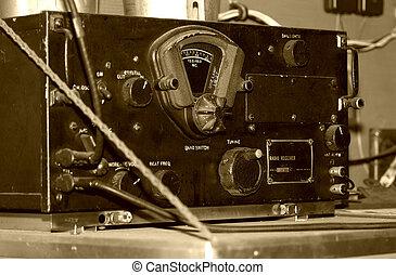 årgång radio, mottagare