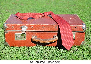årgång, resväska