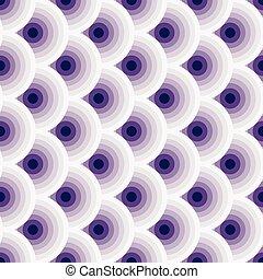 årgång, violet-white, seamless, mönster