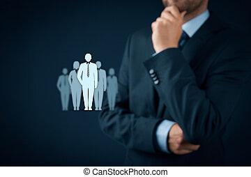 åsikt, ledare, influencer