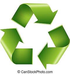 återvinn symbol