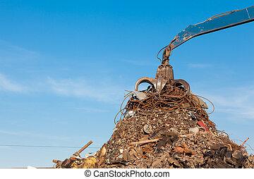 återvinning, metall