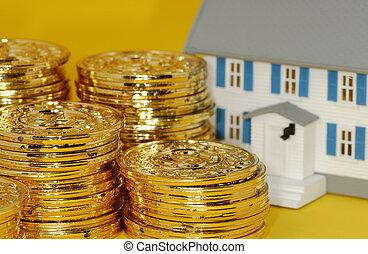 ægte, investering, estate