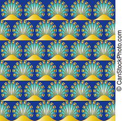 ægyptisk motif, seamless