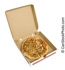 æske, karton, pizza
