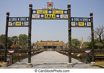 皇居, 色合い, ベトナム