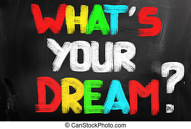 è, concetto, sogno, tuo