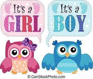 è, esso, uno, ragazza, o, ragazzo