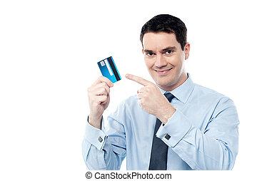 è, launch., credito, nuovo, nostro, scheda