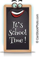 è, scuola, tempo
