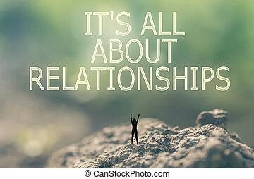 è, tutto, circa, rapporti