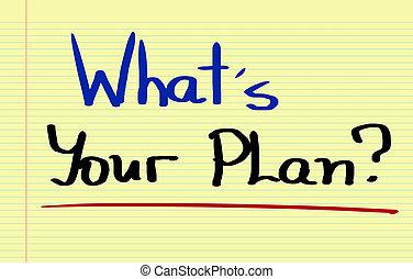 é, seu, plano, conceito