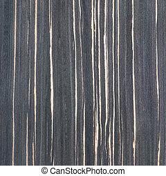 ébano, textura de madera