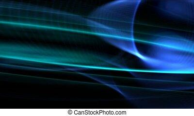 éblouissant, bleu, technologie, lumière, fond
