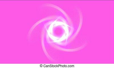 éblouissant, laser, tunnel, lumière, tourbillon