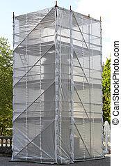 échafaudage, monument