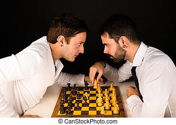 échecs, échauffourée