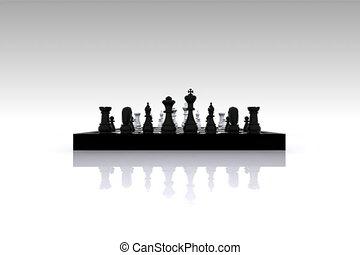 échecs, 3d