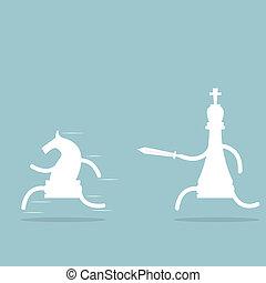 échecs, baston
