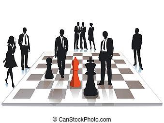 échecs, business